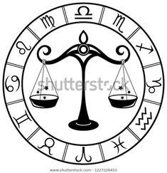 Стоковая векторная графика «Libra Horoscope Zodiac Sign Silhouette Isolated» (без лицензионных платежей), 1227226453 Libra Horoscope, Zodiac Signs, Symbols, Silhouette, Image, Art, Art Background, Kunst, Star Constellations