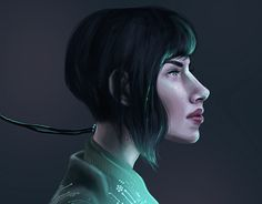 "Check out new work on my @Behance portfolio: ""Ghost in the Shell"" http://be.net/gallery/51604675/Ghost-in-the-Shell"