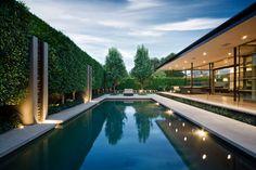 DuChateau Floors - Terra Collection in Zimbabwe / Horwitz Residence by Minarc - modern - pool - san diego - DuChateau Floors