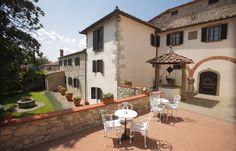 The beautiful #architecture of the #hotel patio. #tuscany #chianti