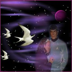 purple - Spock &  I