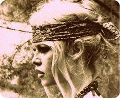 Bardot bohemian. I love her.