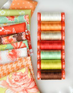 swatchesandthread - fig tree + aurifil