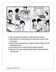 30 Best Bina Ayat Images Malay Language Study Materials Kids Learning