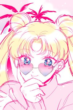Discovered by 愛美. Find images and videos about art, anime and manga on We Heart It - the app to get lost in what you love. Sailor Moom, Arte Sailor Moon, Sailor Moon Fan Art, Sailor Moon Usagi, Sailor Saturn, Sailor Moon Crystal, Arte Do Kawaii, Kawaii Anime, Sailor Moon Aesthetic