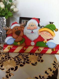 Diy Christmas Star, Kids Christmas Ornaments, Easy Christmas Decorations, Christmas Snowflakes, Christmas Cats, Garfield Christmas, Christmas Cartoons, Arte Country, Pintura Country