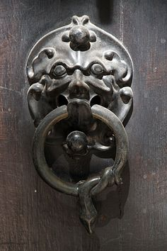 Reminds me of the door knockers on Labyrinth