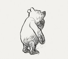 This site has some amazing original pooh drawings. They are adorable!