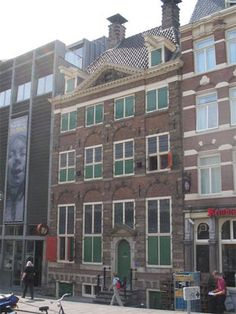 One of the most touching places in the world, Anne Frank's hiding house.