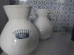 Water pitchers, kitchen in Palermo