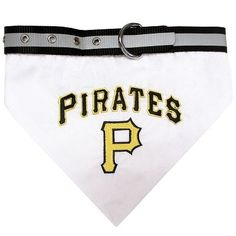 Pittsburgh Pirates Dog Bandana Collar Large