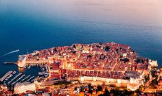 Dubrovnik, Croatia  I've been here once and loved it. This is a really cool shot.