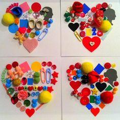 everyday plaid hearts