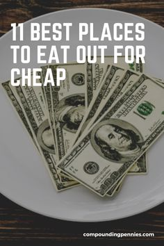 Going out doesn't have to cost a fortune. Here are the best places to enjoy a meal out without emptying your wallet. #CheapEats #FrugalLiving #SaveMoney Restaurant Offers, Fast Food Restaurant, Living On A Budget, Frugal Living, Jimmy Johns, Fast Food Items, Save On Foods, Budgeting Money, Frugal Meals