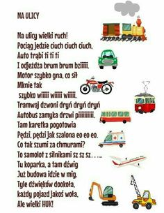 Fun Crafts For Kids, Diy For Kids, Creative Activities, Activities For Kids, Learn Polish, Polish Language, Raising Kids, Kids Education, Speech Therapy