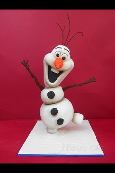 Planet Cakes: Olaf from Frozen