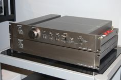 Sony TA-E86B & Ta-N86B (Very rare!) Preamp and Power Amp | Solid state | Chicago, Illinois 60622 | AudiogoN - The High-end Audio Community