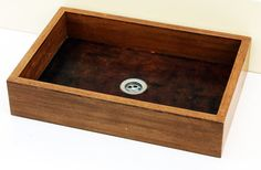 Natural - Wooden Sink