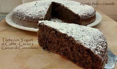 Questa Torta con Yogurt al Caffè e Cacao è stata una vera scoperta! Arricchita con gocce di cioccolato, ha una sapore ed una consistenza eccezionale...