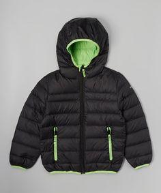 6bbd5ca12be1f Black Packable Down Jacket - Boys · Boys Winter CoatsGreen ...