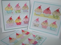 Sizzix cupcakes..calorie free