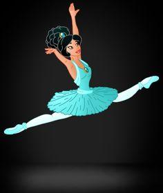 Disney Ballerina: Jasmine by Willemijn1991.deviantart.com on @deviantART