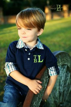 Monogrammed Polo by MadisonLily $22.50