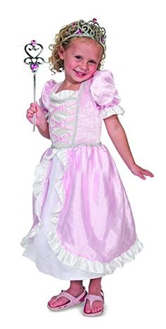 Melissa and Doug Personalized Princess Role Play Set - Your little princess will reign supreme wearing her Melissa and Doug Personalized Princess Role Play Set . A fun way for her to dress up and play pretend,. Princess Dress Up, Pink Princess, Little Princess, Pink Gowns, Melissa & Doug, Dress Up Costumes, Tulle Gown, Color Rosa, Costume Accessories