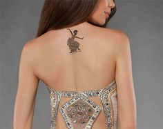 Say Hello to the dance floor by grabbing yourself #Dance-With-Me #Tattoo.