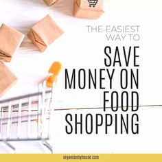 Saving money on food shopping is always something I want to do - and if you're like me, then this is the article that will give you the tip that will make it really simple to do Money Saving Meals, Household Chores, Ways To Save Money, Homemaking, Declutter, Frugal, Make It Simple, Budgeting, Organization