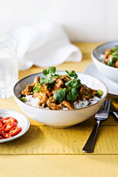 Punainen possucurry | K-ruoka Kung Pao Chicken, Curry, Food And Drink, Koti, Cooking, Ethnic Recipes, Waiting, Cucina, Curries
