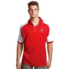 Kyle Busch Antigua Century Color Blocked Polo - Red/White - $47.99