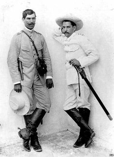 Spanish soldiers in colonial Cuba.
