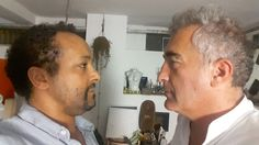 The Director and the Producer face to face for the documentary Film