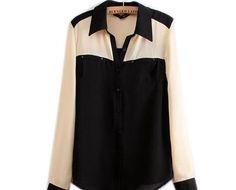 tanto faz R$167,75 camisa preta, bege e linda. ou linda, bege