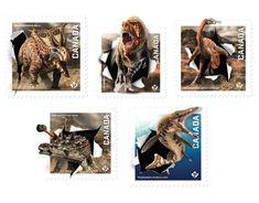 Dinos of Canada   Canada Post  April 13, 2015