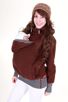 3 in 1 Baby carrying jacket for mother  baby by VivalaMamaBerlin