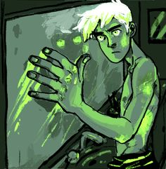 """""""Bruises glow in the dark when you're dead."""" By ectology on Tumblr"""