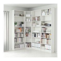 Bookshelves storage billy bookcase white 215 135 x 28 x 237 cm ikea. Ikea Billy Bookcase White, Ikea Bookcase, Ikea Shelves, Billy Bookcases, Narrow Shelves, Shelving Units, Bookcase Organization, Wall Shelves, Floating Shelves
