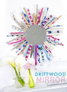 driftwood mirror - alisaburke