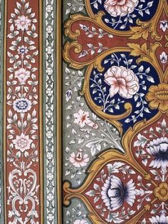 artnlight: Wall art in Indian Palaces.