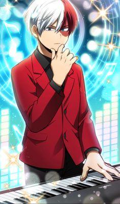 My Hero Academia - Todoroki Shouto Boku No Hero Academia, My Hero Academia Manga, My Hero Academia Episodes, Hero Academia Characters, Anime Characters, Bakugou Manga, Manga Drawing, Me Me Me Anime, Anime Guys