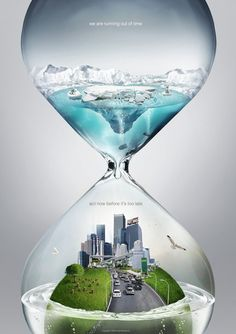 global warming psa   time by pepey d23un4y pic on Design You Trust