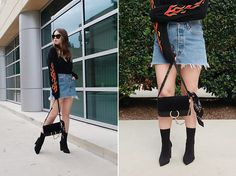 Get this look: http://lb.nu/look/8639561  More looks by Taylor Smith: http://lb.nu/itswhatsin  Items in this look:  Urban Outfitters Top, Levis Denim Skirt, Chloé Chloe Faye Bag, Tony Bianco Boots   #chic #edgy #street #fashion #fashionblog #fashionblogger #streetstyle #personalstyle #ootd