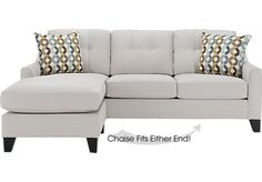 Cindy Crawford Home Madison Place Platinum 2 Pc Sleeper Sectional. $1,049.99. 89W x 69D x 38H. Find affordable iSOFA Hidden for your home that will complement the rest of your furniture.