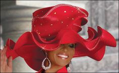 Church Hats for women 2012 Fancy Hats Black Women Church Hat Spring D Red Hat Club, Red Hat Society, Types Of Hats, Women Church Suits, Stylish Hats, Kentucky Derby Hats, Church Hats, Fancy Hats, Wearing A Hat