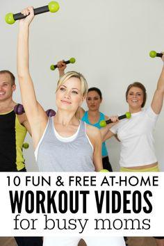 10 fun (& free!) at-home workout videos