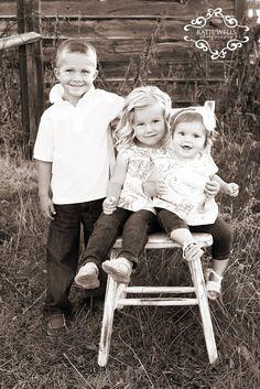 Katie Wells Photography: {Idaho Falls Child Photographer} Tate, McKinley, & Alivia