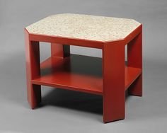 Jean Dunand   Table   The Met