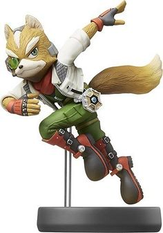 Nintendo - Amiibo Figure (Fox)
